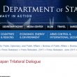 US hosted 7th trilateral dialogue with India and Japan
