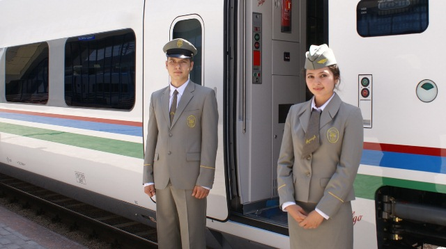 Tashkent-Bukhara connects with high speed train