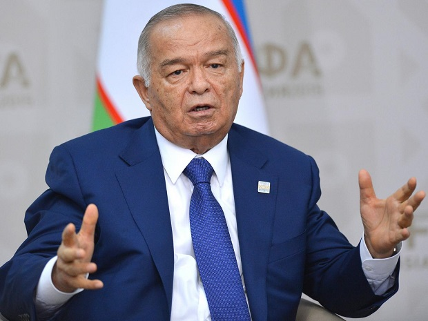 Rumours of death of Karimov widespread when country celebrating its mars of 25th Independence Day