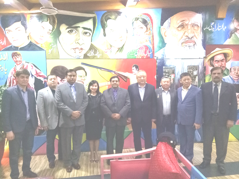 Delegation of journalists and regional experts from Kazakhstan visiting Pakistan