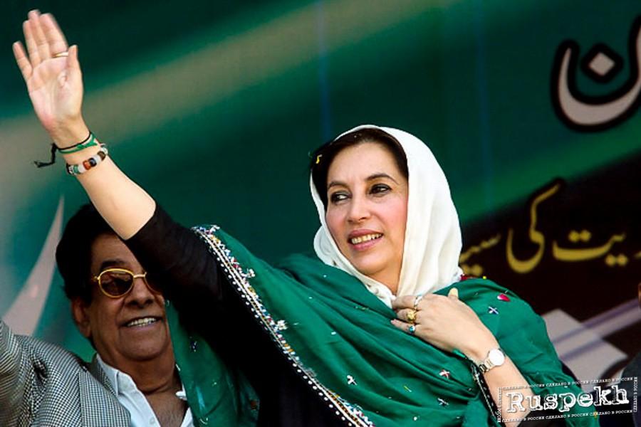 Сегодня исполняется 65 лет со дня рождения Беназир Бхутто