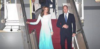 Британская королевская чета Принц Уильям и Кейт Миддлтон прибыли в Пакистан