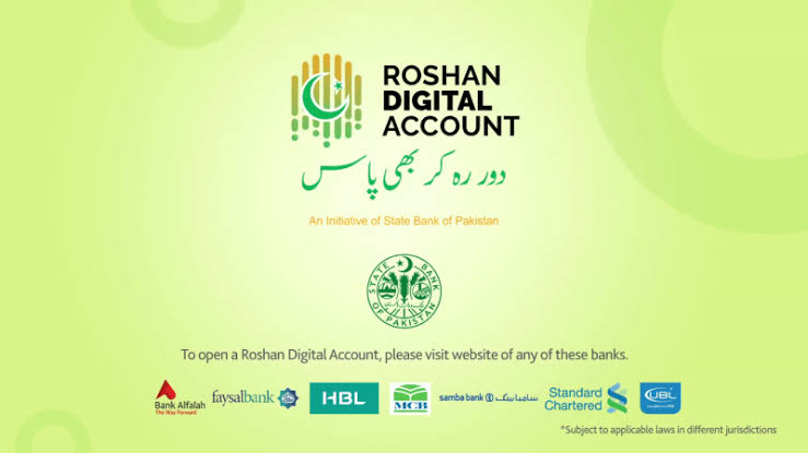 Roshan Digital Account Pakistan online